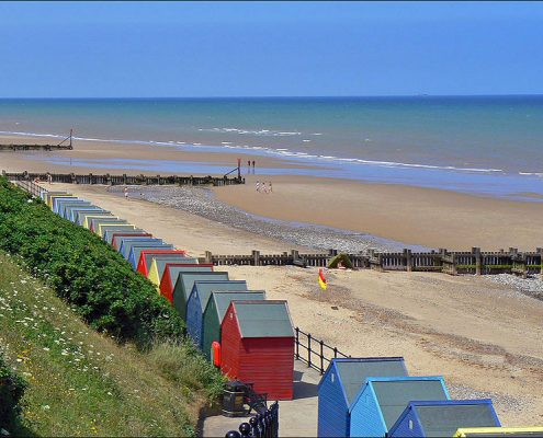 Mundesley beach