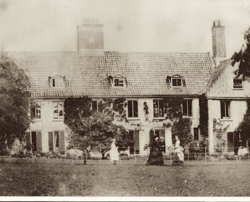 Swafield Hall c 1880