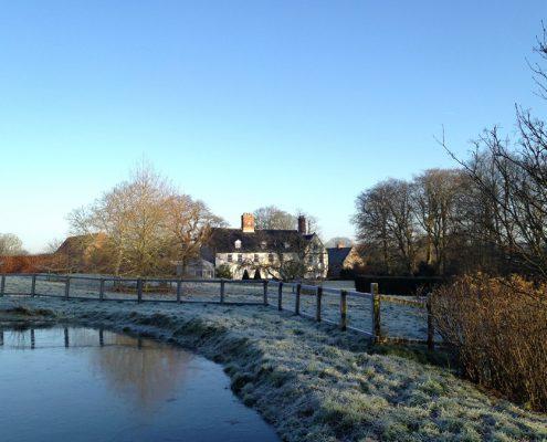 winter,Swafield Hall